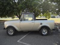 FOR SALE IS A RARE HARD TO FIND ~ ~ 1966 INTERNATIONAL