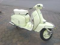 RARE Vintage 1966' Innocenti Lambretta 150LIS3