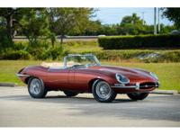Year:1966 Exterior Color:Opalescent Maroon Make:Jaguar