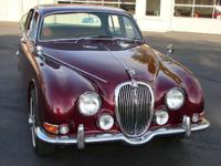 This is a superb car. 1966 Jaguar 3.8 S Mk II Saloon in