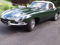 This 1966 Jaguar XKE Series I 4.2 Roadster is a