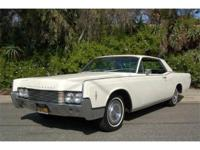 1966 Lincoln Continental Coupe 462 V8 4V This is a