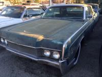 1966 Lincoln Continental Convertible . Car was