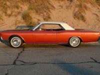 1966 Lincoln Continental Coupe.  -This car had no rust,