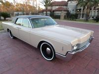 1966 Lincoln Continental Sedan. -This classic Lincoln