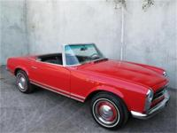 1966 Mercedes Benz 230SL with 2 tops Here is a