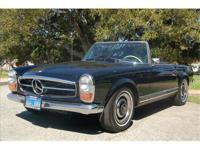 1966 Mercedes Benz 230 SL This 230 SL was delivered new