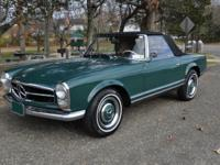1966 MERCEDES-BENZ 230SL.  -Considered by many to be