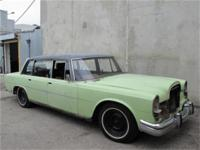 1966 Mercedes Benz 600 Right Hand Drive Here is a 1966
