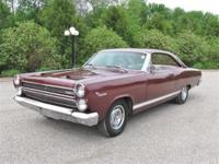 This beautiful two owner 1966 Mercury Comet Cyclone GT