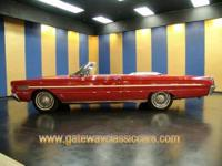 Don't miss out on this 1966 red Mercury S-55