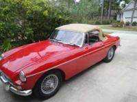 1966 MG MGB for sale in Southport, North Carolina.