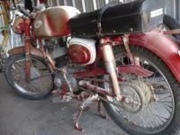 This is a rare early 1960's motorcycle. It is all