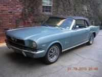 1966 Mustang Convertible 289 Pony (LA) - $35,900 92,000