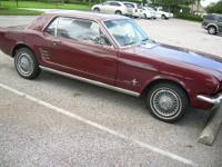 mustang 6cyl.solid foridal car purchased in Bradenton