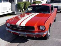 1966 Mustang FASTBACK - Auto Trans with original
