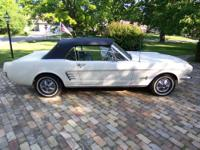 I am selling my late Fathers 1966 convertible Mustang