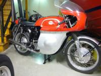 fully recovered Norton Atlas 750, loaded with every you