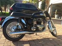 For sale here is my 1966 Norton Atlas. Very clean bike,