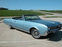 1966 Oldsmobile 98 Convertible ..Lite Blue Paint Nice