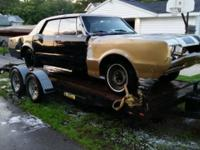 What's it worth? 1966 Olds F85 Deluxe 4dr HT. No engine