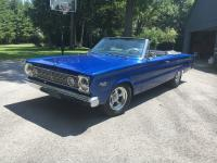 1966 Plymouth Satellite Convertible. Painted 1996 Dodge