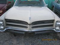 1966 Pontiac Catalina 4dr , Original Black California
