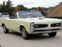 1966 Pontiac GTO 389ci V8 Engine Beautiful Candlelite