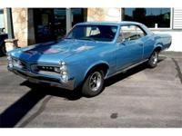 1966 GTO Tri-Power , with OriginaL Protect-O-Plate and