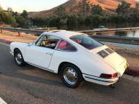 1966 Porsche 912 Factory Sunroof  Ivory Red Full
