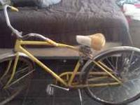 I have a 1966 Schwinn Speedster 20 inch boys bicycle.