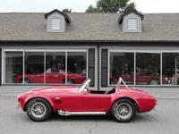 1966 Shelby 427 Cobra CSX 3259, Red with black, 520hp