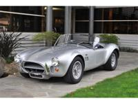 1966 Shelby Cobra 427 CSX 3112 CSX 3112 is a true 427