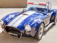 The car Im selling is my 1966 Cobra 427 S/C replica!