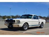 Year : 1966 Make : Shelby Model : GT350 Exterior Color