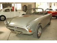 1966 Sunbeam Tiger. Barn find. This is an interesting