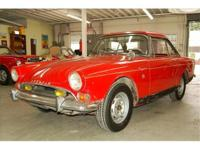 1966 Sunbeam Tiger with 289 V8 This 260 Tiger is a