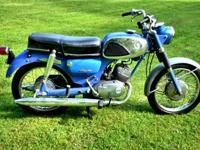 1966 Suzuki S32-2 Olympian.. 150 cc two stroke. 4 speed