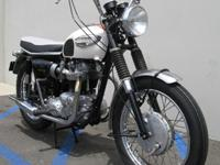 This 1966 Triumph T120 Bonneville might be the ultimate