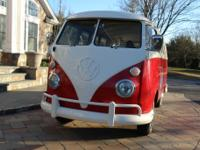 1966 Volkswagon Bus. Officially named the Type 2, was