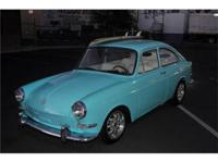Totally cool 66 VW Type III. Ocean Blue paint with a