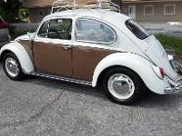 Fully restored 66' bug All numbers matching including