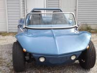 66 vw dune buggy looks like a corvette gm shut the