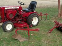 1966 wheel horse tractor k301