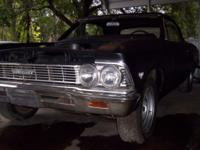This is a 1966 Chevelle Convertible has it's initial