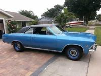 1966 CHEVELLE SS SUPER SPORT 138 VIN #. HAS A BALTIMORE