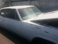 1966 Chevy Caprice, car needs restoration, has 350