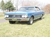 1966 Chevrolet Chevelle SS 138 car  This posting is a