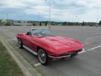 1966 CHEVROLET CORVETTE CONVERTIBLE. BODY OFF RESTORED,