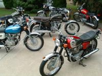 for sale old vintage motorcycles honda yamaha kawasaki